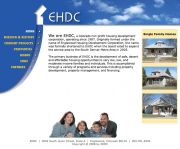Housing development company, EHDC, needed a web presence to showcase their properties and their mission.