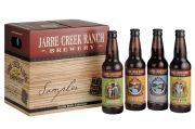 Packaging designed for Jarre Creek Ranch Brewery. This included four labels for their different brands and the 12-pack sampler.